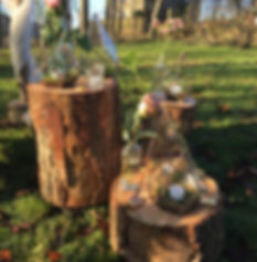 Brass Copper Terrariums Available to Hire in Leeds Yorkshire, the North of England