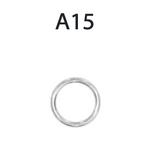 staffa anello per catena graznde