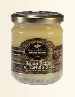 Salsa Reale al Tartufo Nero (burro) - 180 gr