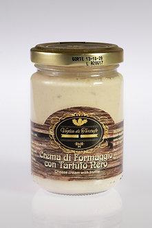 Crema di Formaggio (Gorgonzola) con Tartufo Nero - 90g