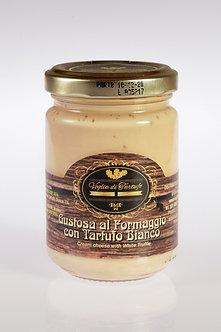 Gustosa al Formaggio (Parmigiano) con Tartufo Bianco - 90gr