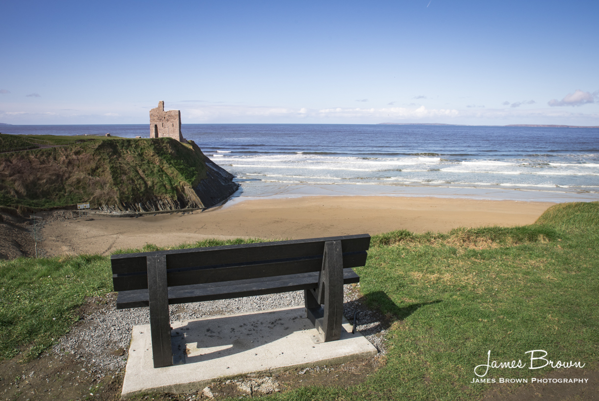View of Ballybunion Castle