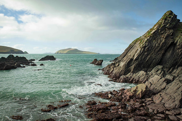 Great Blasket From Dunquin Pier