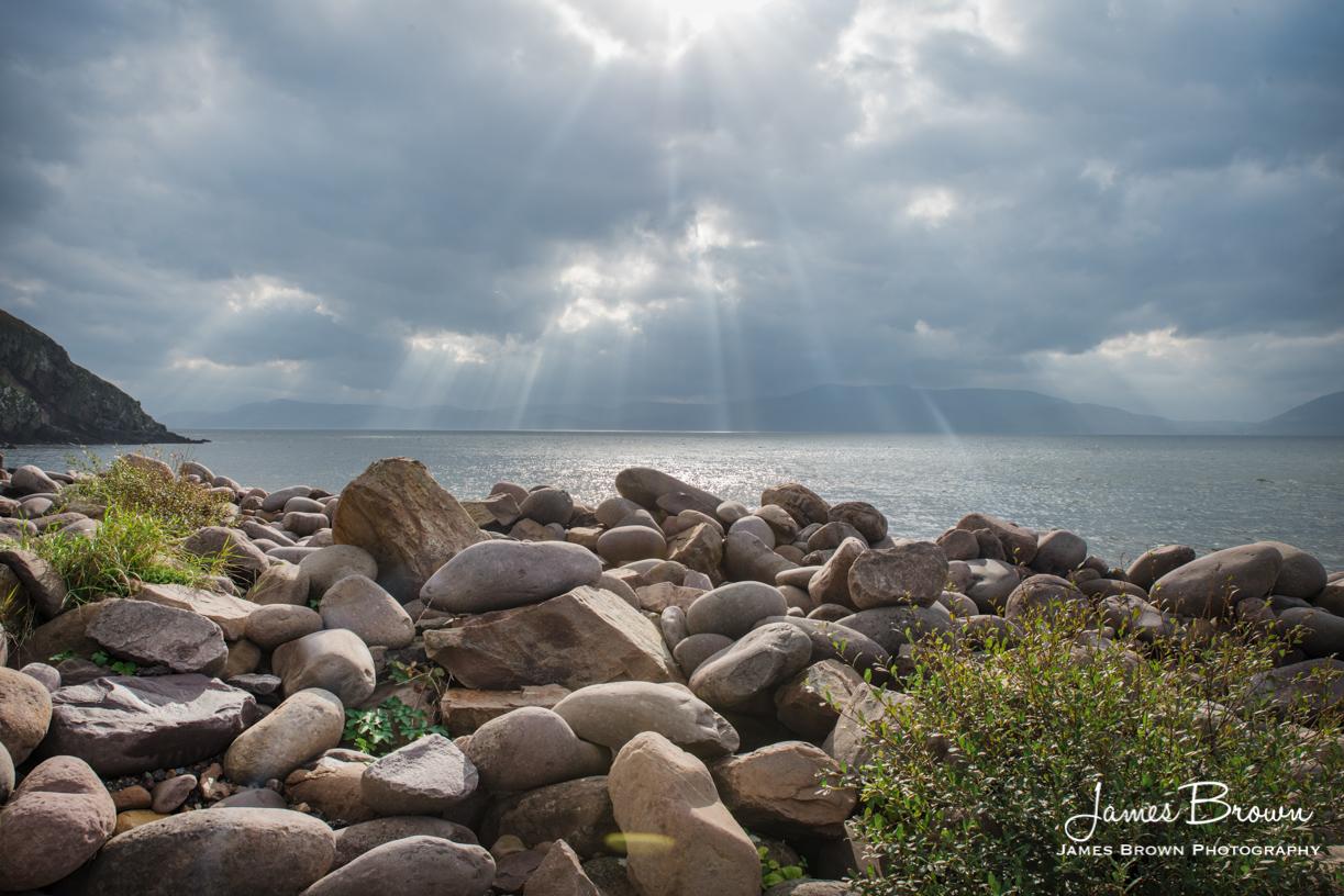 Minard Storm Beach