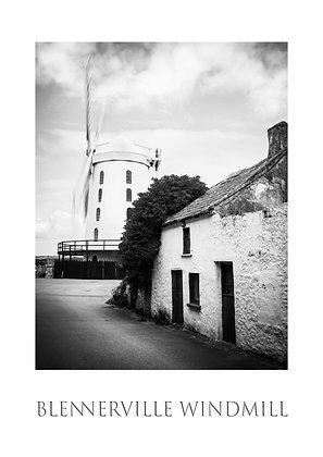 Blennerville Windmill Poster Print