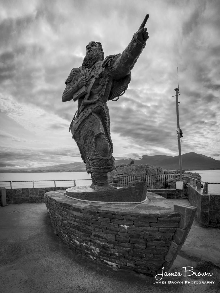 Statue of St. Brendan