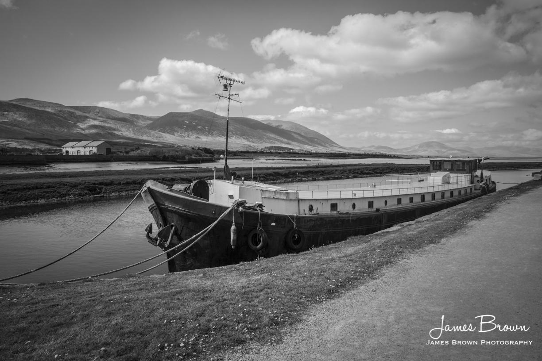 Barge at Blennerville