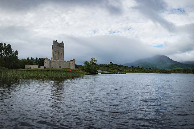 Ross Castle At Lough Leane
