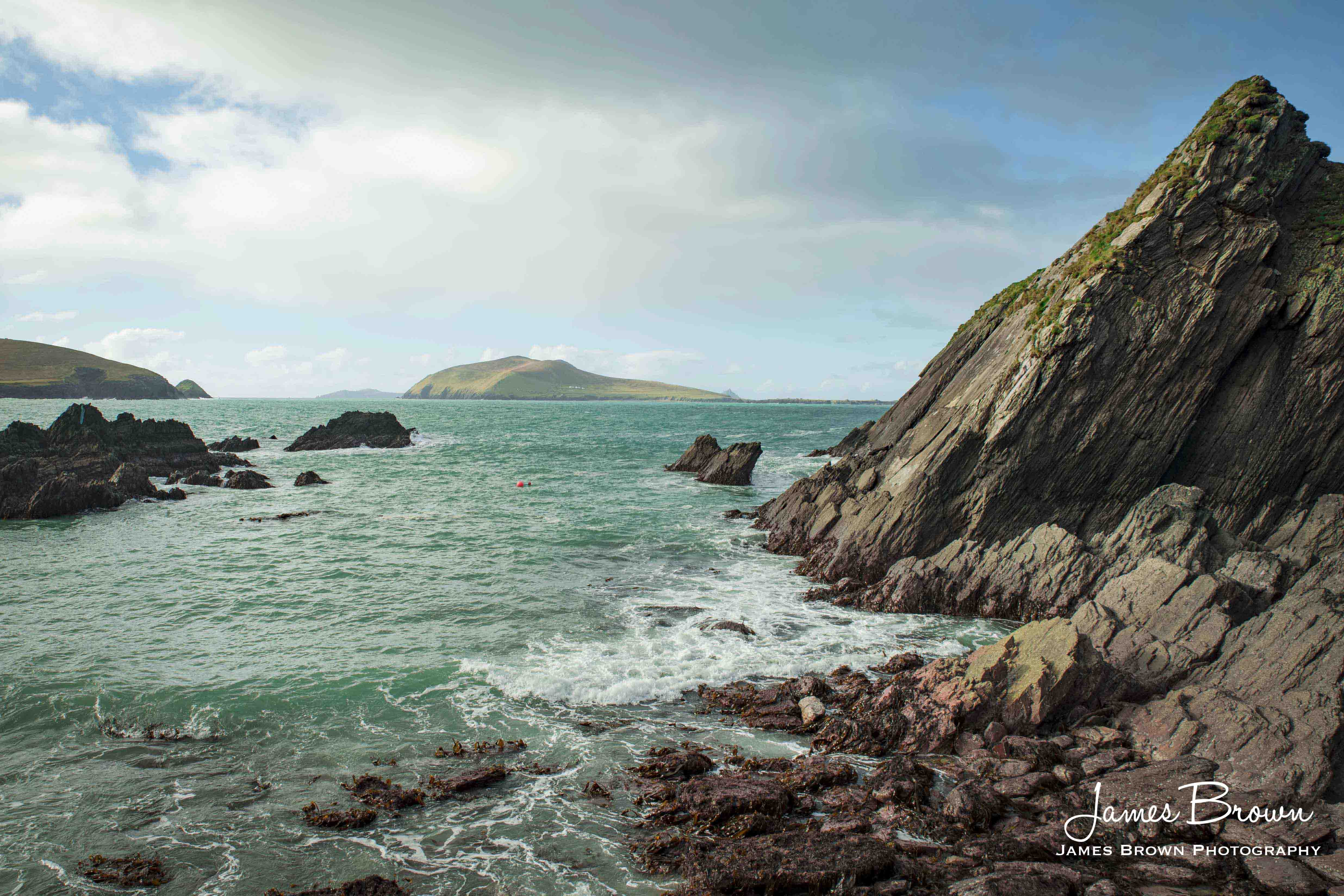 Blaskets from Dunquin Pier