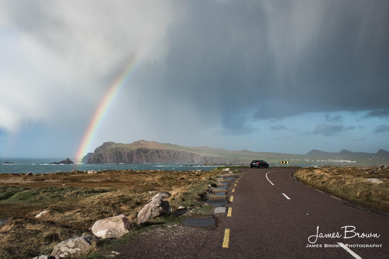 Rainbow at Ceann Sibeal
