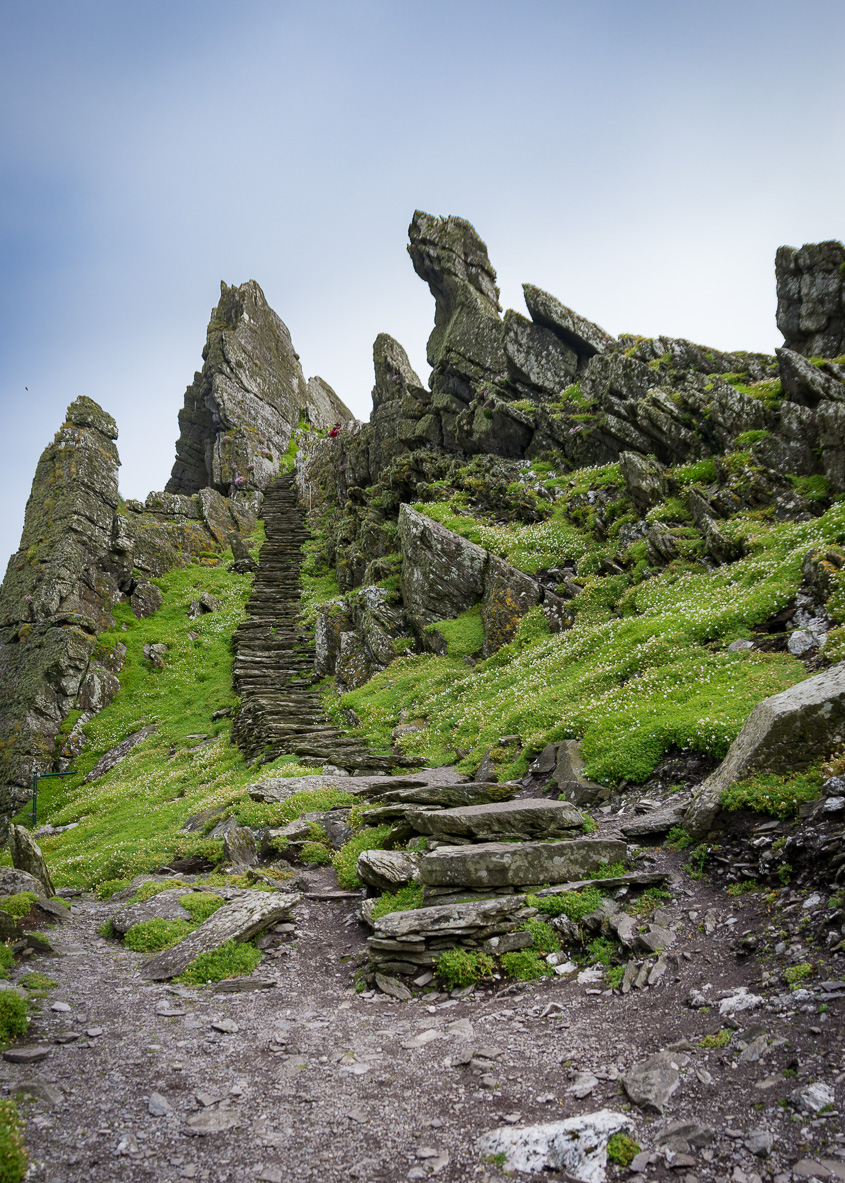 Rugged Stone Steps