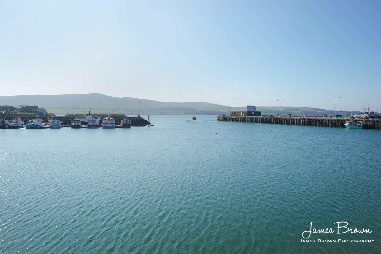 Dingle Marina Entrance.