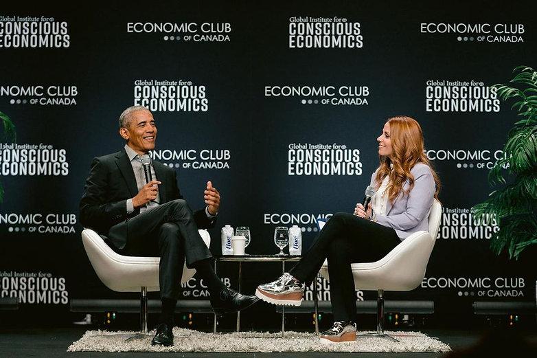 Obama Economic Club Canada