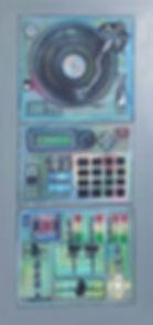 Turtable MDj Mixer Bea machine