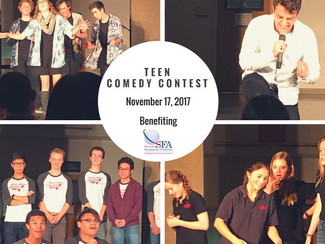 Teen Comedy Contest Success!