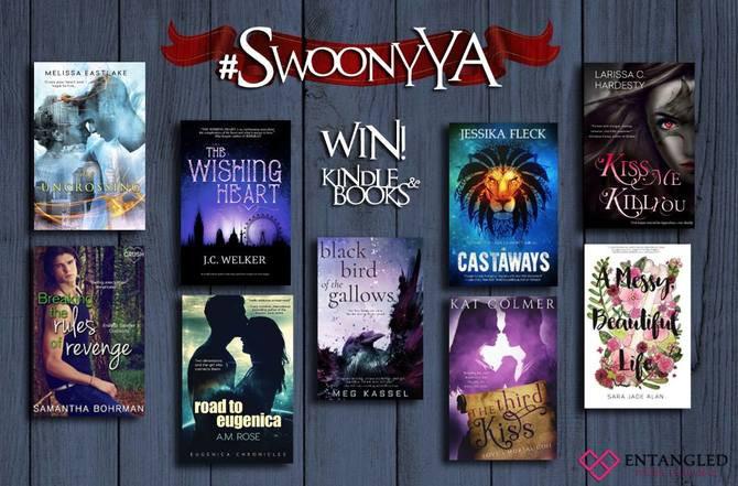 #SwoonyYA Entangled YA Kindle Books Giveaway!