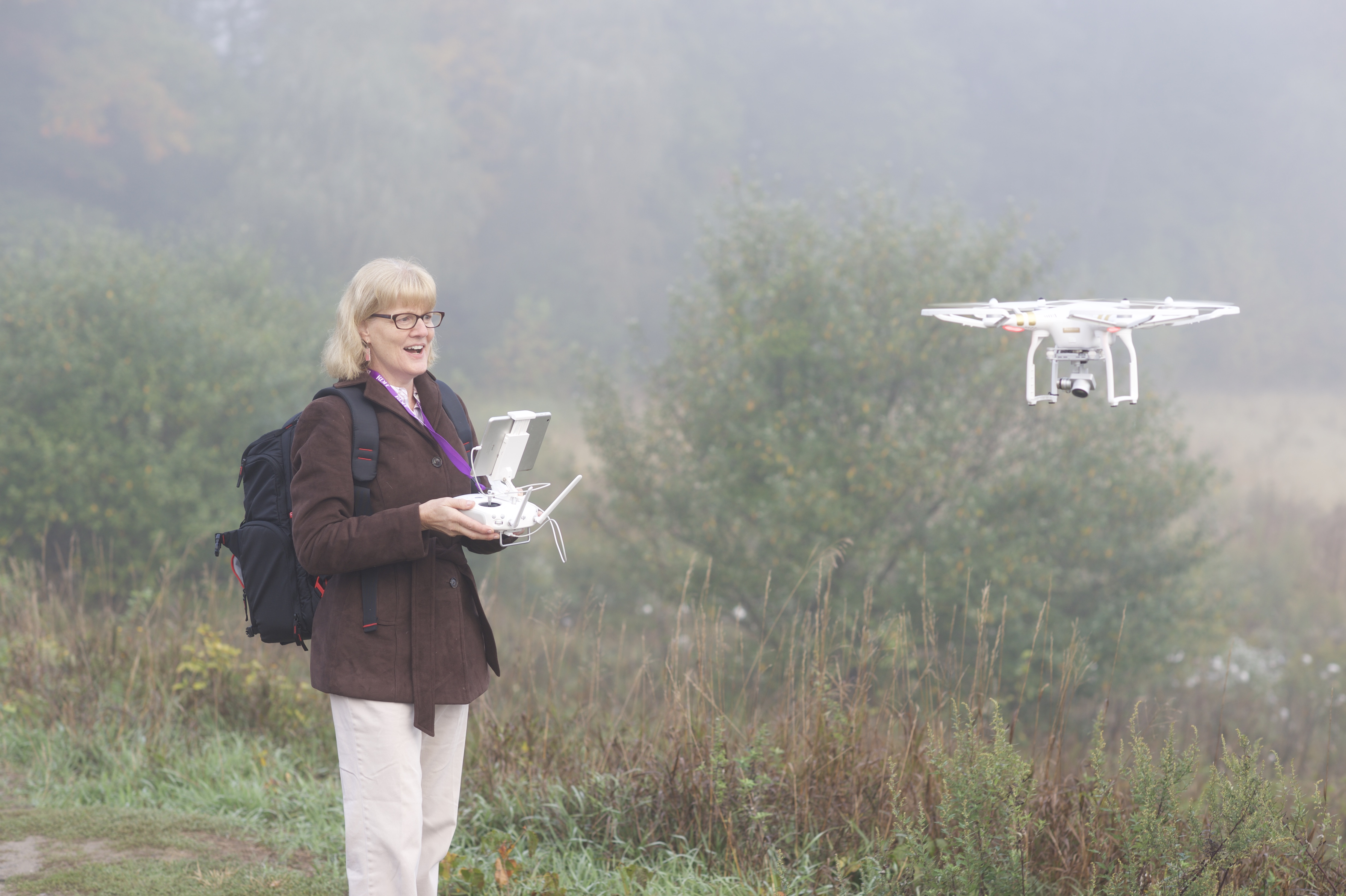 Drone Pilot Julie vanderKroef