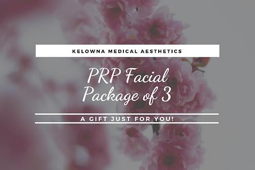 PRP Facial Package