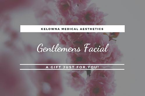Gentlemen's Facial