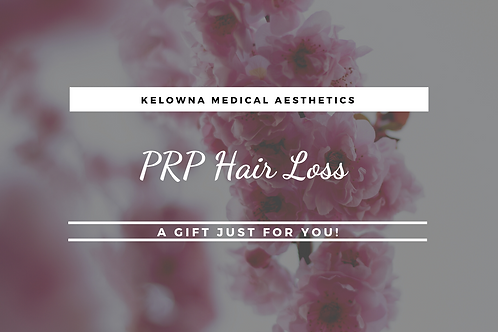 PRP Hair Loss Treatment