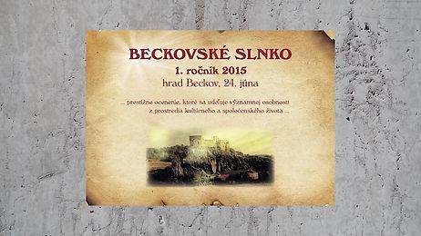 Beckovské slnko 2015 - Eva Blahová