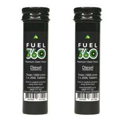 Two Pack Commercial Diesel (10x tablets per tube)  100 Litre Tablets