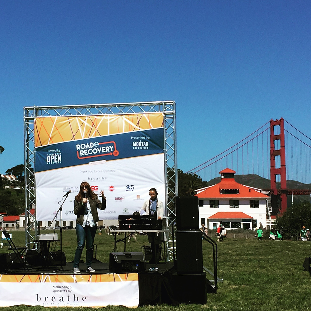 Mackenzie Phillips Speaking at Road To Recovery SF