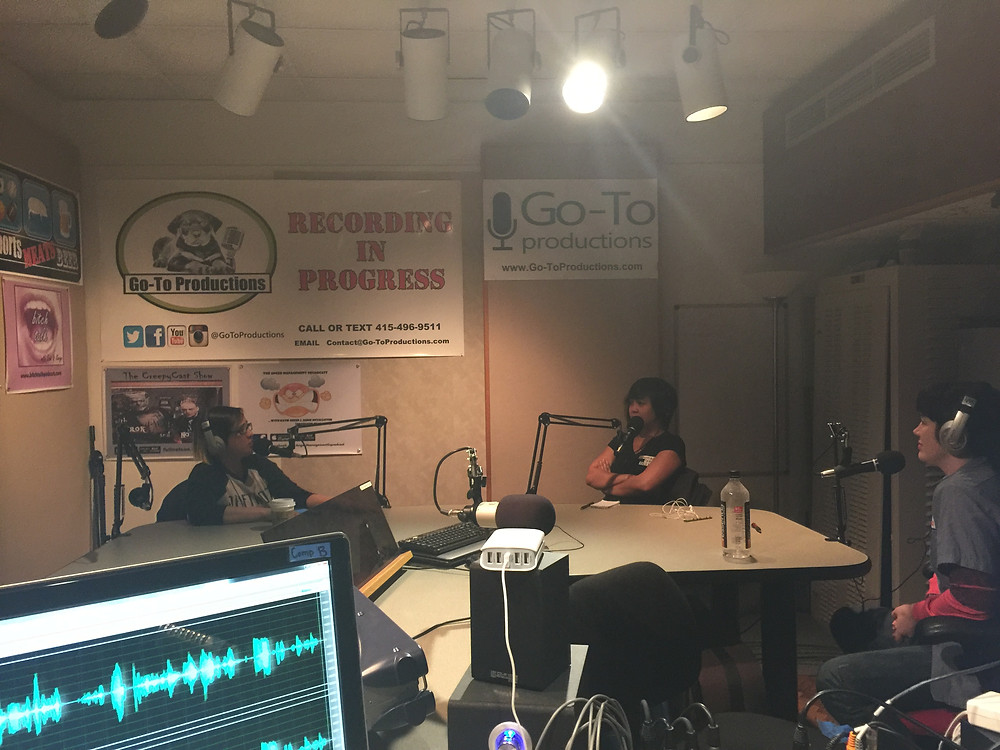 Dayna In Studio With The Bitch Talk Podcast