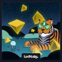 Indaco by Lo-Fi Tigers, Lofitaly