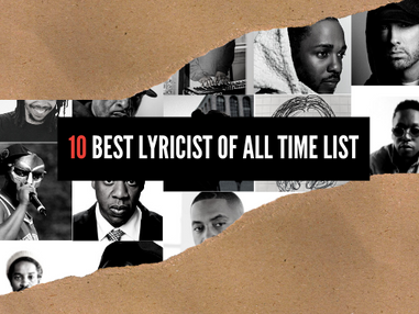 10 Best Lyricist Of All-Time List