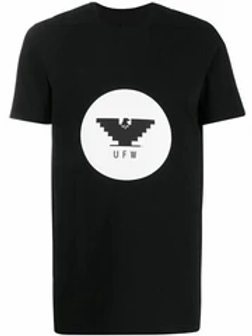 Rick Owens - Black UFW Print Level T-Shirt