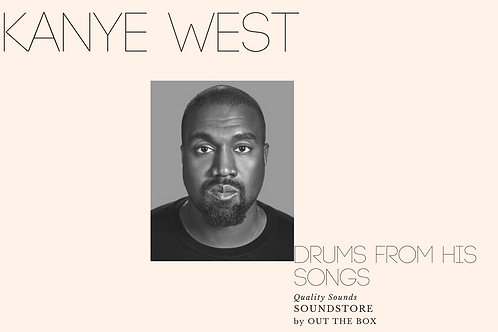 Drums From Kanye West Songs