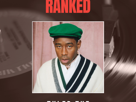 RANKED - Tyler The Creator