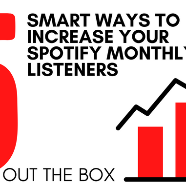 5 Smart Ways To Increase Your Spotify Monthly Listeners