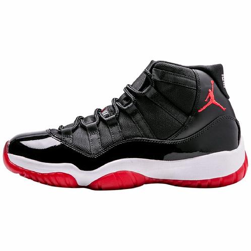 Bred Jordan 11 Retro Sneakers