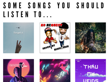 Some Songs You Should Listen To...