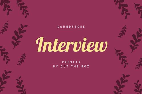 Interview Presets