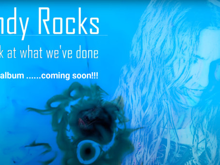 """ANDY ROCKS single """"Look at what we've done"""" from upcoming homonymous album."""