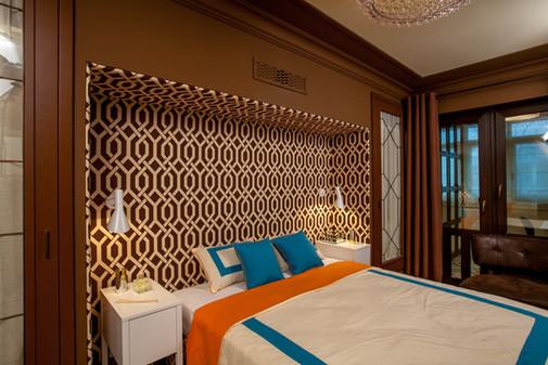 шоколадная спальня КВАРТИРНЫЙ ВОПРОС