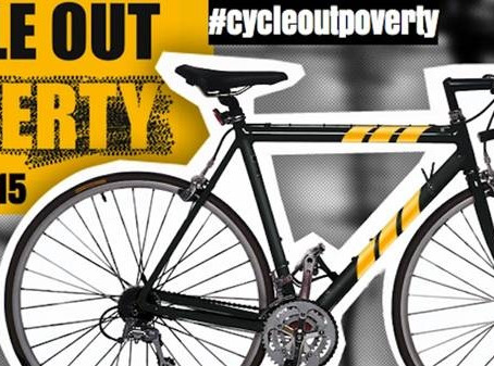 COP - Cycle Out Poverty! Our inaugural mass cycling event.