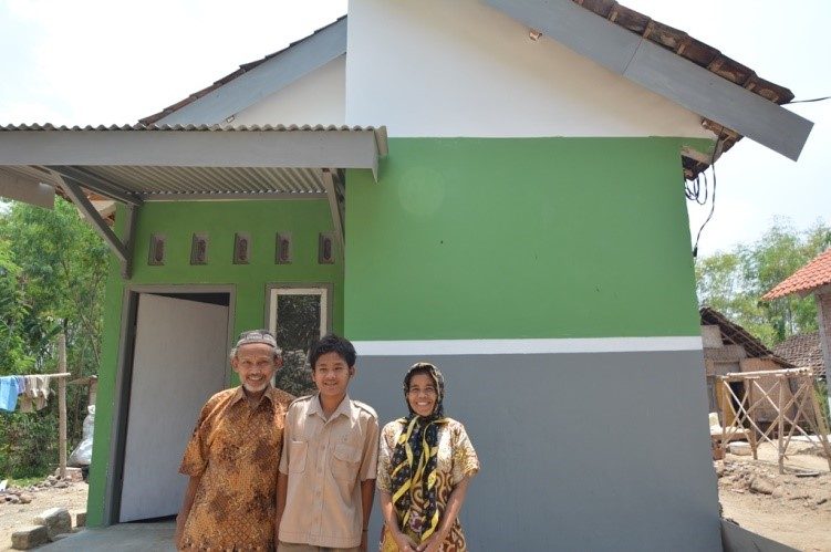 Mr Hadi Supoto's completed house
