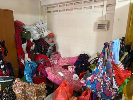 The (he)art of de-cluttering