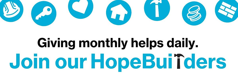Join our HopeBuilders!