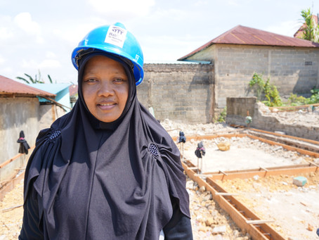 Women building for women: Helping two mothers' quest for their dream homes