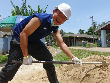 Humans of Habitat: A Guiding Light for Youths with the Heart for Community Service - Victor Goh