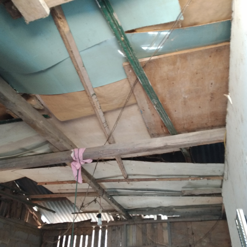 Hapzard roof