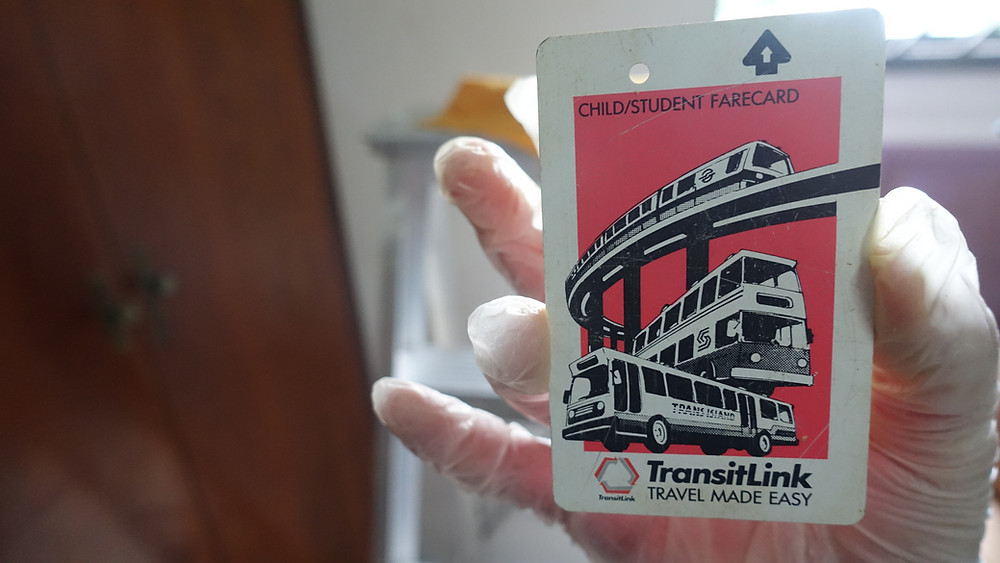 Bus fare cards introduced in 1990