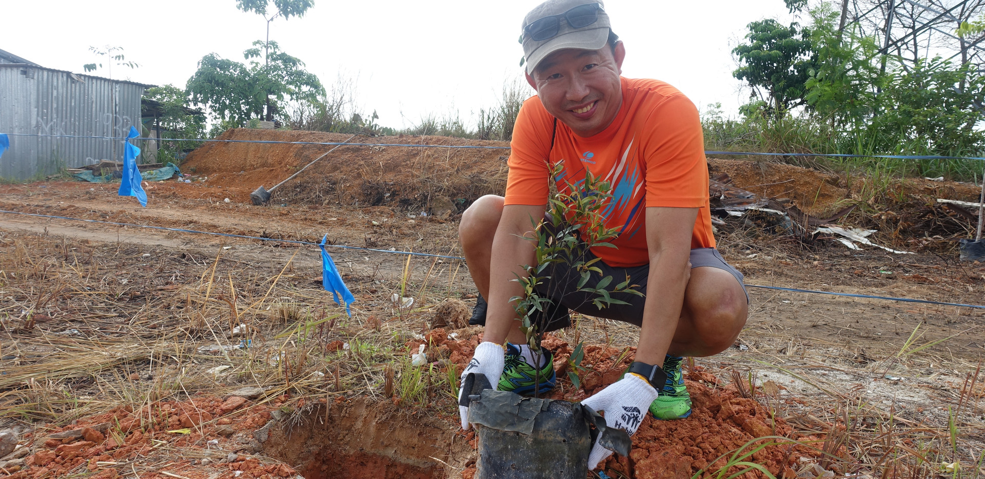 Cycle Out Poverty 2018 Tree Planting