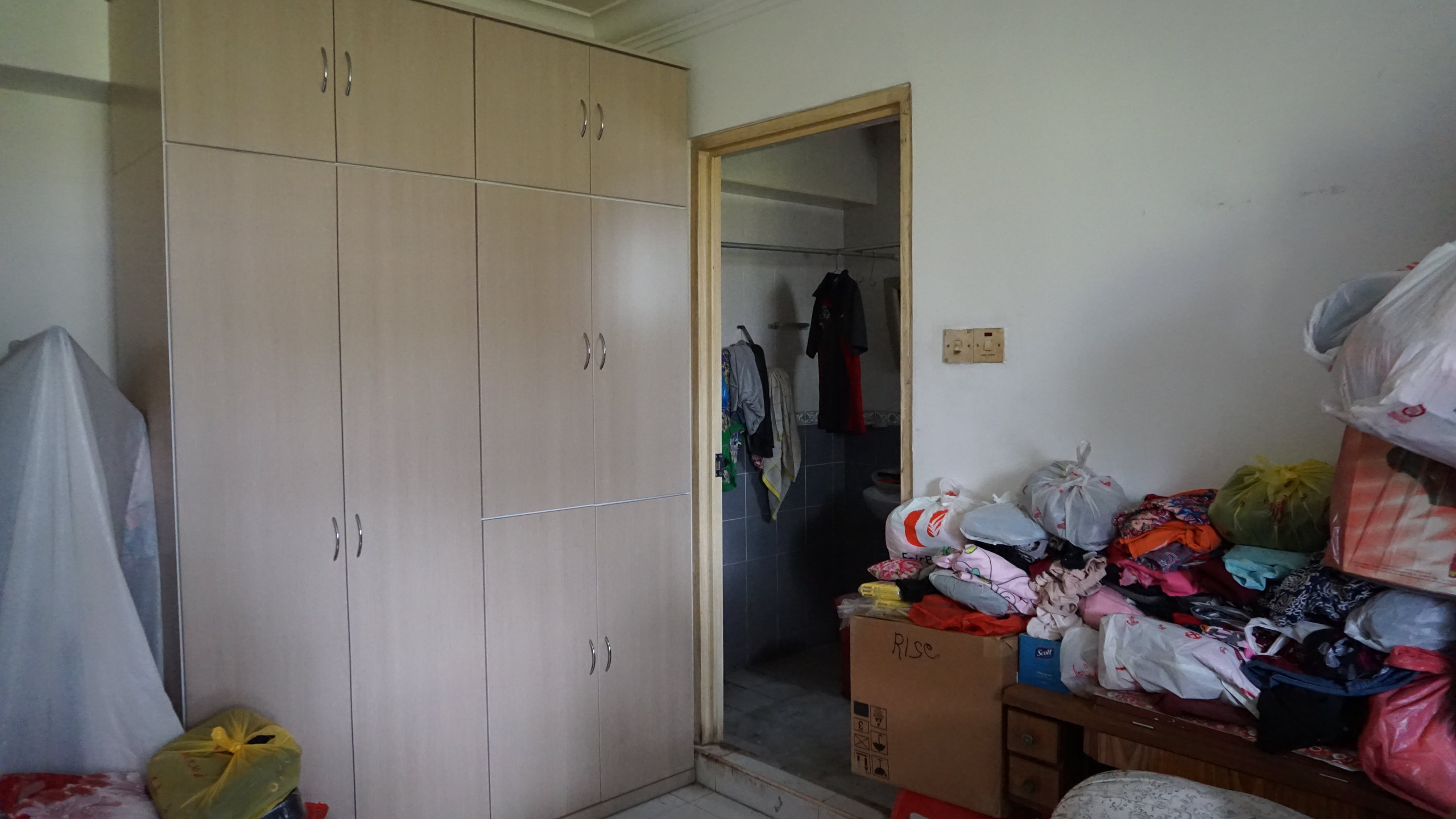 Donated wardrobe for Mdm Kng