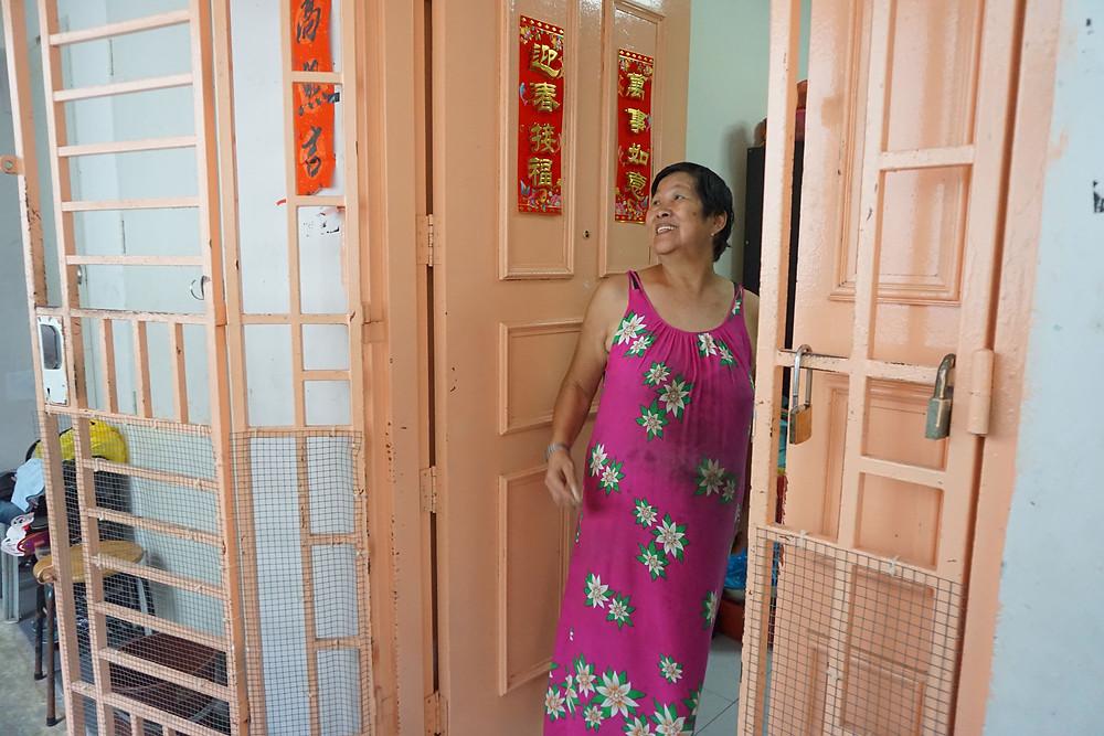 Mdm Kng, Project HomeWorks elderly homeowner